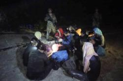 Army personnel catch 13 foreigners trying to enter Malaysia by sea in Johor