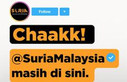 Radio station Suria's Instagram account returns after getting hacked