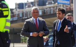 Kosovo president Thaci meets war crimes prosecutors in The Hague