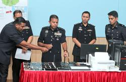 Johor police bust Macau scam ring