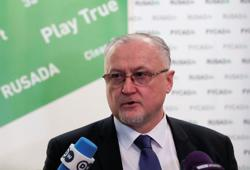 Russia's Olympic chief accuses anti-doping agency of financial violations