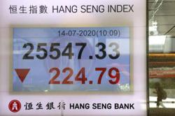 Asian markets hit by new lockdown, fresh China-US tensions