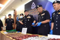 Police seize drugs worth almost RM1mil, arrest family members in raids