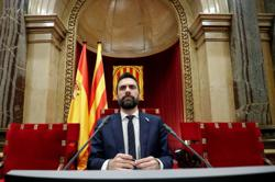Catalan politician suspects was target of state phone tapping, spokesman says