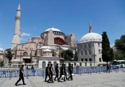 Greece says Turkey is being 'petty' over Hagia Sophia
