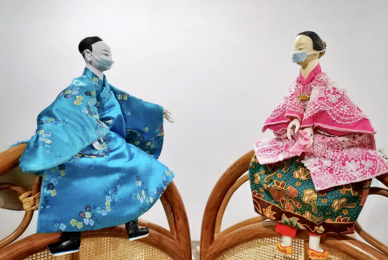 Traditional Hokkien puppet theatre outfit Ombak Potehi is one of the featured groups in the HeriStage online series. Photo: The Classic Accents