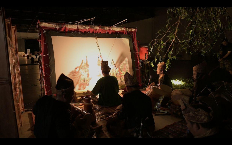 Kumpulan Penggiat Seni Wayang Kulit Kelantan recordings its performance for the HeriStage video series recently. Photo: The Classic Accents