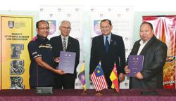 Sports council and university sign MOU