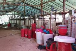 Large haul of controlled chemicals seized in central Myanmar