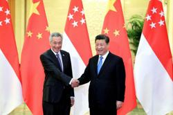 Xi reaffirms cooperation with Singapore, Thailand in phone calls to PMs