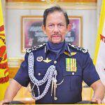 Brunei Sultan urges ministries to work together in face of pandemic