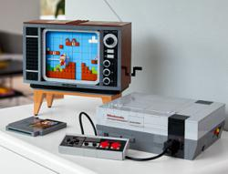 Make your own Nintendo NES with this Lego set
