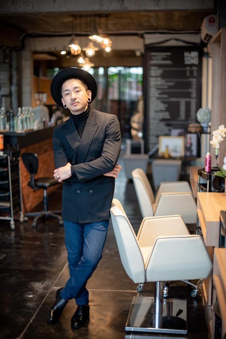 Nick Siow, creative director of Hair Soho at 176 Avenue, Bangsar. —  176 Avenue