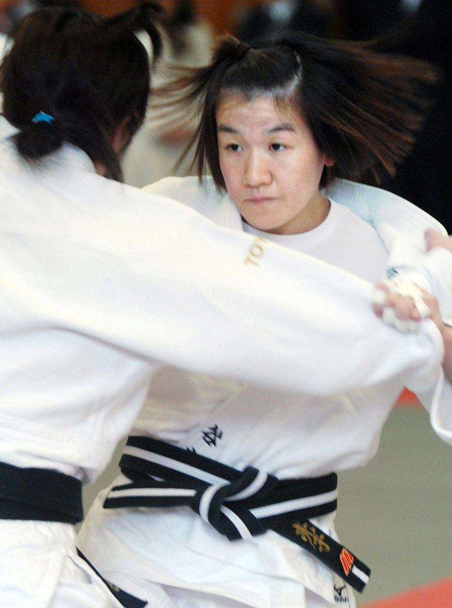 Women's judo in Japan shot to prominence with the rise of the legendary Ryoko Tani. Photo: AFP/JIJI Press