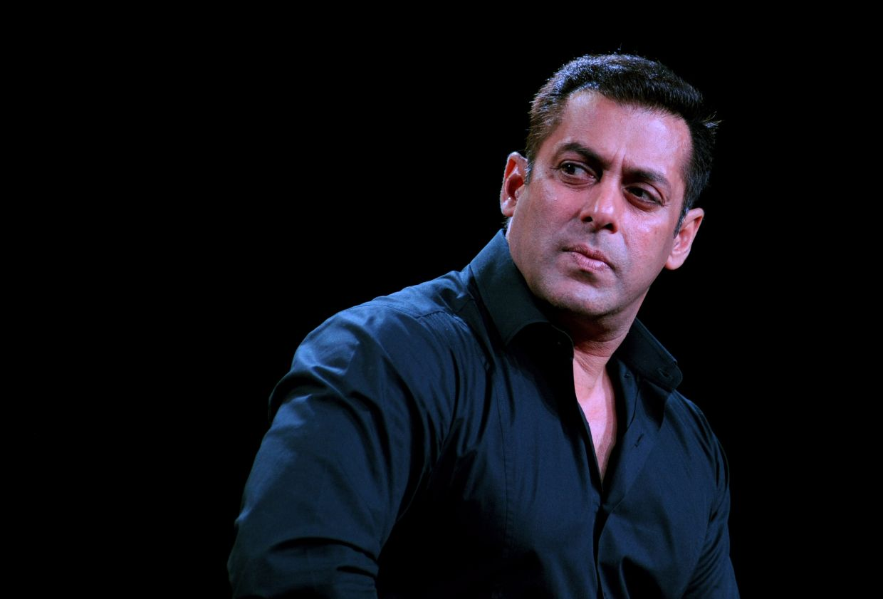Salman is currently self-isolating at his farmhouse, about an hour's drive from Mumbai. Photo: AFP