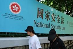 China to act against US over Hong Kong-related act