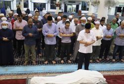 Slim assemblyman Mohd Khusairi buried in Felda Sungai Behrang