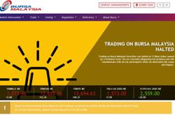 Trading on Bursa halted due to technical issue