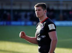 England's Farrell commits long-term future to relegated Saracens
