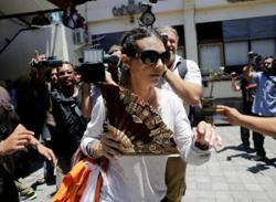 Australian woman freed from jail for Bali police killing