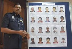 Melaka cops ramp up manhunt for 20 individuals over fraud cases