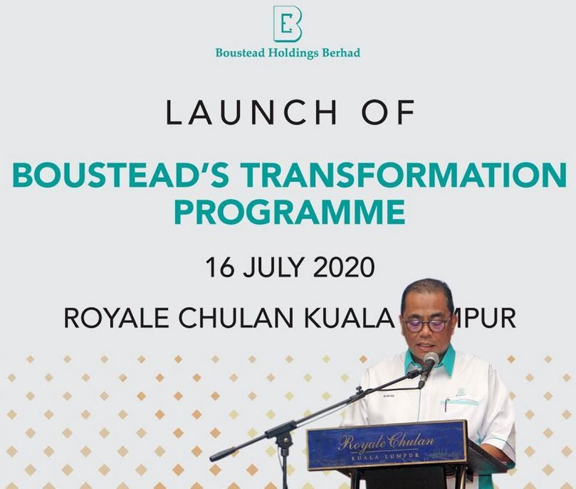 Boustead chairman Datuk Seri Mohamed Khaled Nordin said the first phase of the transformation plan was to restructure Boustead and its subsidiaries to optimise value.