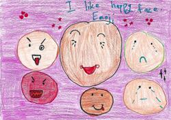Starchild: Malaysian children share their drawings on the topic World Emoji Day