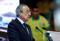 Real Madrid title win will go down in history, says president Perez