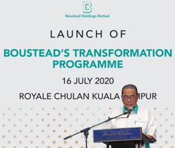 Boustead Holdings unveils three-year transformation plan