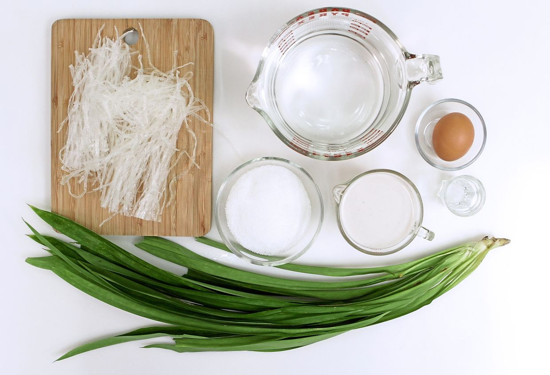 Ingredients for agar-agar santan pandan. — Photos: YAP CHEE HONG/The Star