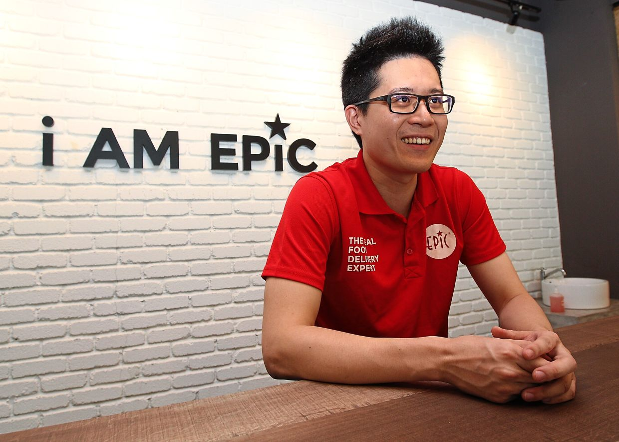 More sales: Lai is expecting Epic Food's revenue to double this year