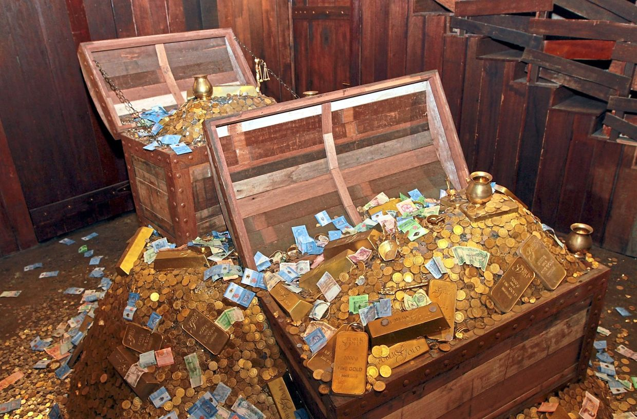 The PG Gold Museum is the only one of its kind in Malaysia. — Filepic
