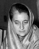Indira Gandhi was the first and, to date, only female Prime Minister of India. Photo: Wikimedia Commons