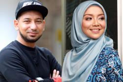 Zizan Razak, previously linked to newly-engaged Mira Filzah, is happy for her
