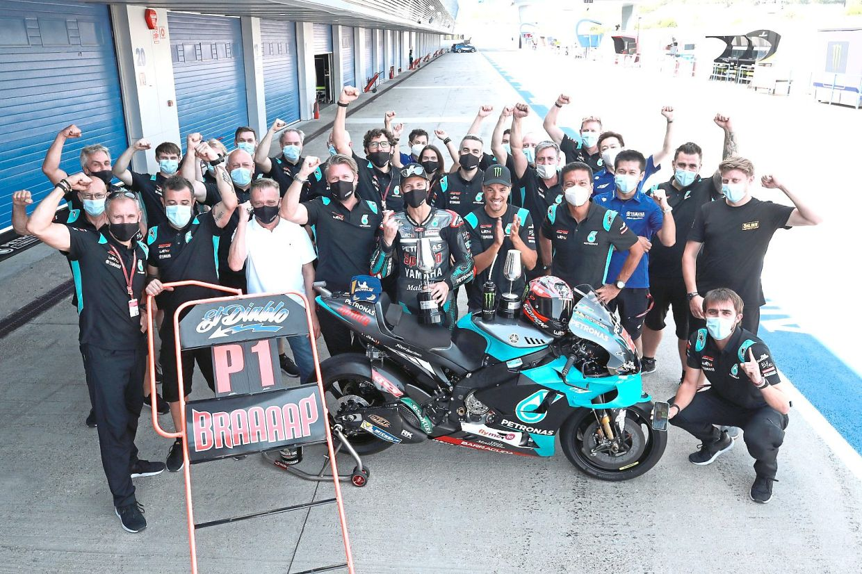Motorsport Petronas Backed Teams Roar To Victory In F1 And Motogp The Star