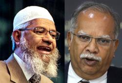March 22, 2021 hearing for Zakir Naik's defamation suits against Ramasamy