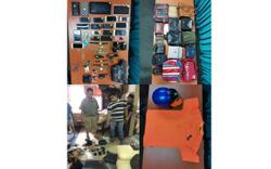 Three arrested over snatch theft cases
