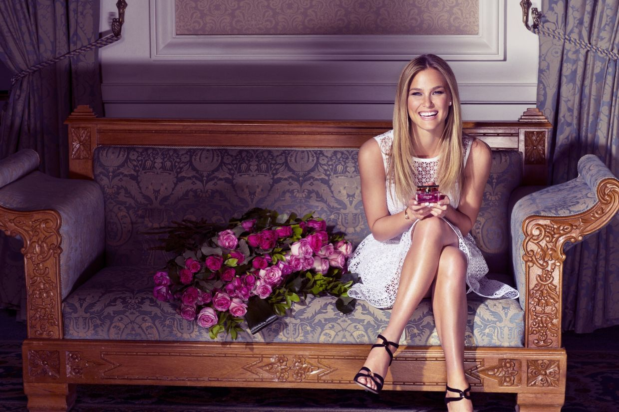 Bar Refaeli has appeared in numerous brand campaigns in the past. Photo: Escada