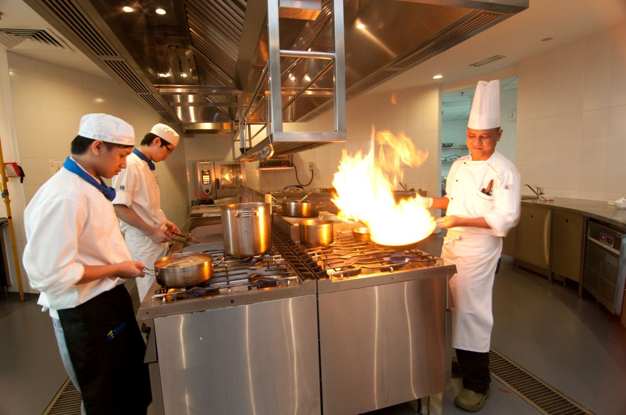 Berjaya University College is the only culinary school in Malaysia that offers Diploma in Heritage Cuisine.