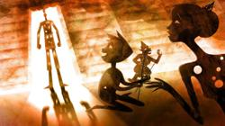 Using animation and wayang kulit to spread awareness about domestic violence