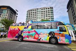 Perak Hop-on Hop-off bus service will no longer stop at closed theme park