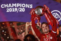 Liverpool's Jordan Henderson named England's Footballer of the Year