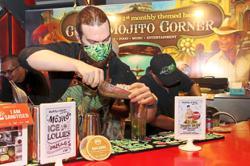 Restaurant serves up mojitos for month-long celebration