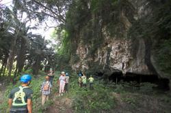 Ancient cave under threat