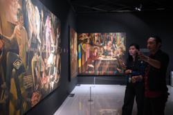 Malaysian artist imitates Italian masters, adds local spice and satire