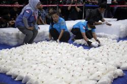 Four alleged drug smugglers from Malaysia caught in Indonesia's Aceh