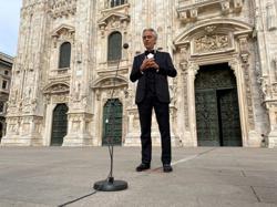Tenor Andrea Bocelli gives Italy government earful over coronavirus