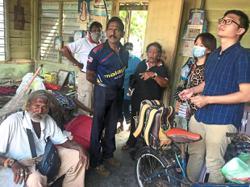 Octogenarian seeks help to fix damaged home