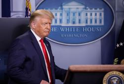 Trump on Fauci's high approval ratings: 'Nobody likes me'