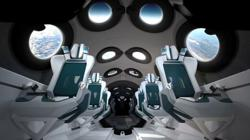 Virgin Galactic unveils space plane's cabin, poised for commercial flights